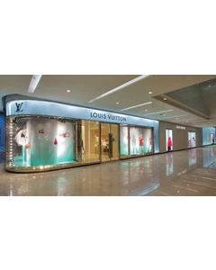 Luxury stores shifted strongly to Asia Pacific